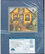 Debbie Mumm Correspondence Portfolio Notebook Journal Blue NWT - $10.00