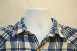 Wrangler Vintage Western Flannel Button-Front Shirt, Mens XL 9151 - $17.62
