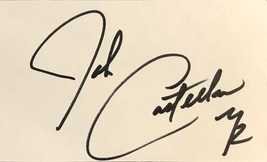 John Castellanos Autographed 3x5 Index Card The Young & The Restless w/COA - $9.99