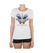 Wonder Woman Logo Burnout Hi-Lo Boyfriend Tee - $15.97
