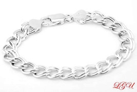 Sterling Silver Italian Charm Bracelet 5MM 6 Inches - $26.14