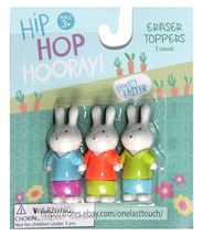 MFR* Set EASTER ERASERS+PENCIL TOPPERS Novelty SCHOOL SUPPLIES Kids *YOU CHOOSE* image 3