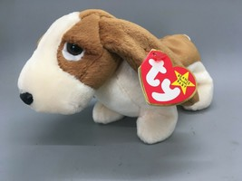 TY Beanie Baby Tracker the Dog DOB  June 5, 1997  - $6.44