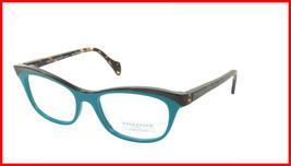 Face A Face Eyeglasses Frame GILDA 2 Col. 3036 Acetate Dark Opaque Turquoise - $316.62