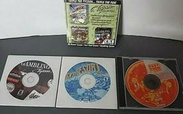 Triple Tycoon Collection PC CD-Rom Ski Resort, Fast Food & Gambling Tyco... - $14.85
