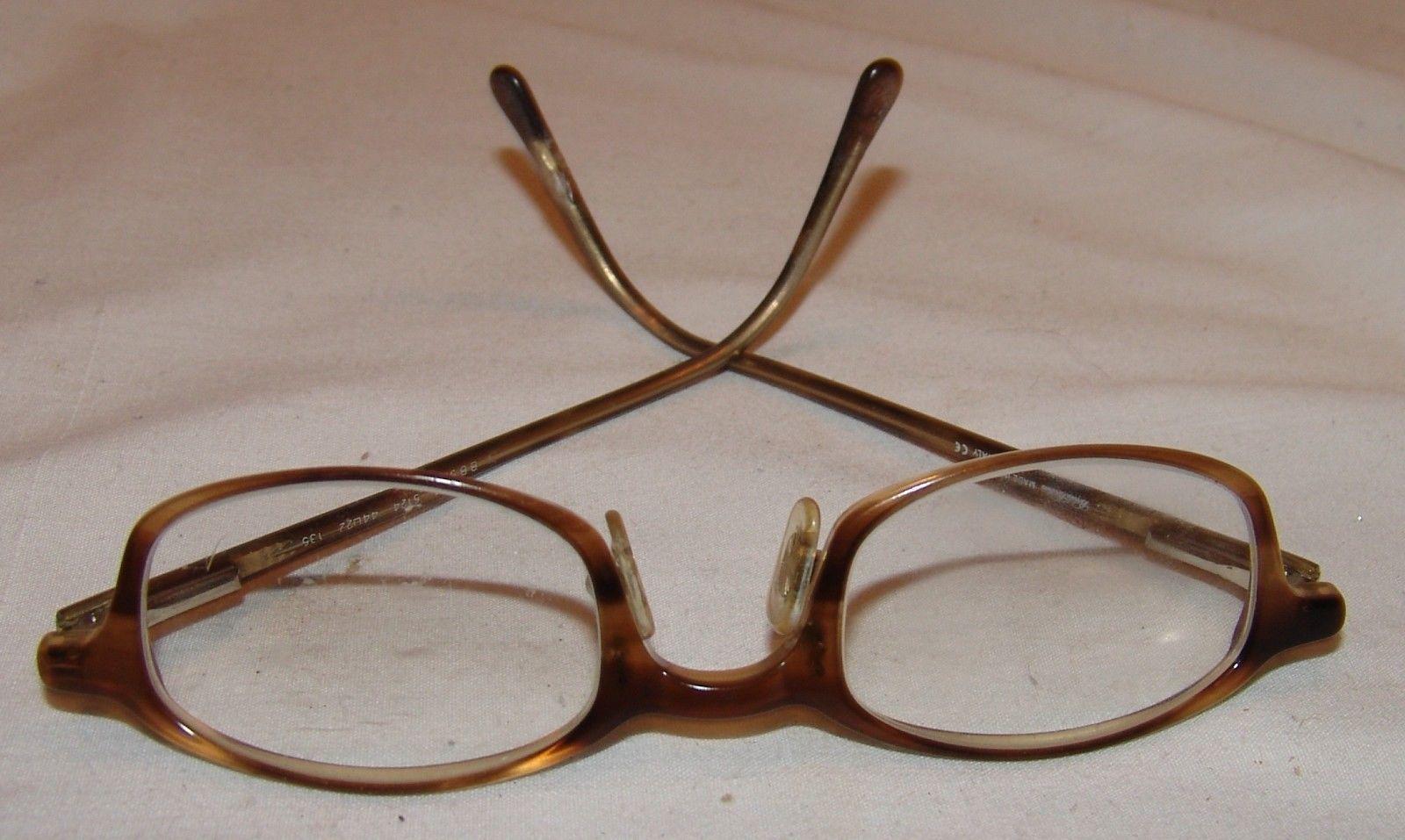 acb8bb0225d Brooks Brothers Eyeglass Frames Glasses BB574 5124 44   22   135 Brown  Italy Men -  27.87