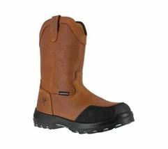 Men's Reebok Work Immortalizer IA0190 WP Comp Toe Wellington Boot Brown - $219.59