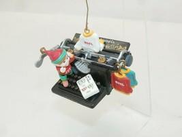 Enesco Christmas Ornament - N.P.T-Shirt Printing Co. Elf Printing Shirts... - $9.99