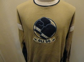 Vtg Throwback Ali '60 Tan Platinum FUBU The Greatest 52-48 BOXING Sweats... - $39.59