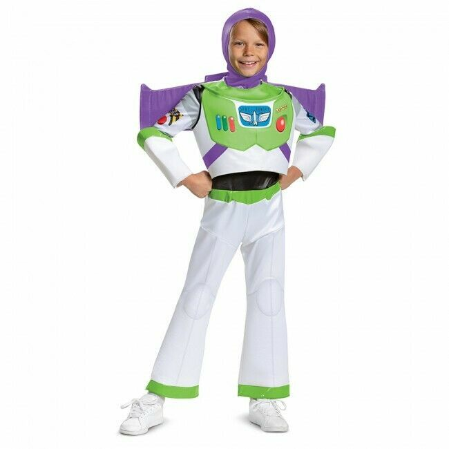 Disguise Disney Toy Story 4 Buzz Lightyear Lusso Bambini Costume Halloween 23585