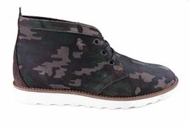 WeSC Lawrence Mi Haut En Noyer Camouflage Cuir Chaussures Nib image 2
