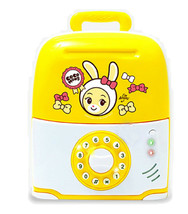 Jeus Toys Aromi Melody Light Suitcase Money Banks Savings Box Piggy Bank Toy