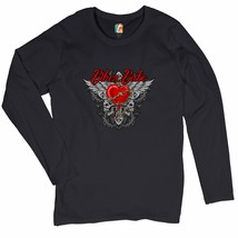 Biker Babe Women's Long Sleeve T-shirt Motorcycle Chick Live to Ride  - $13.39+