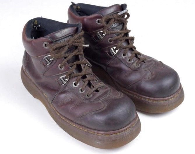 a2312e781ca35e Vintage 90s DR MARTENS Oiled Brown Leather and 50 similar items. S l1600