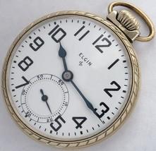 Made in USA men's Elgin pocket watch - $230.00