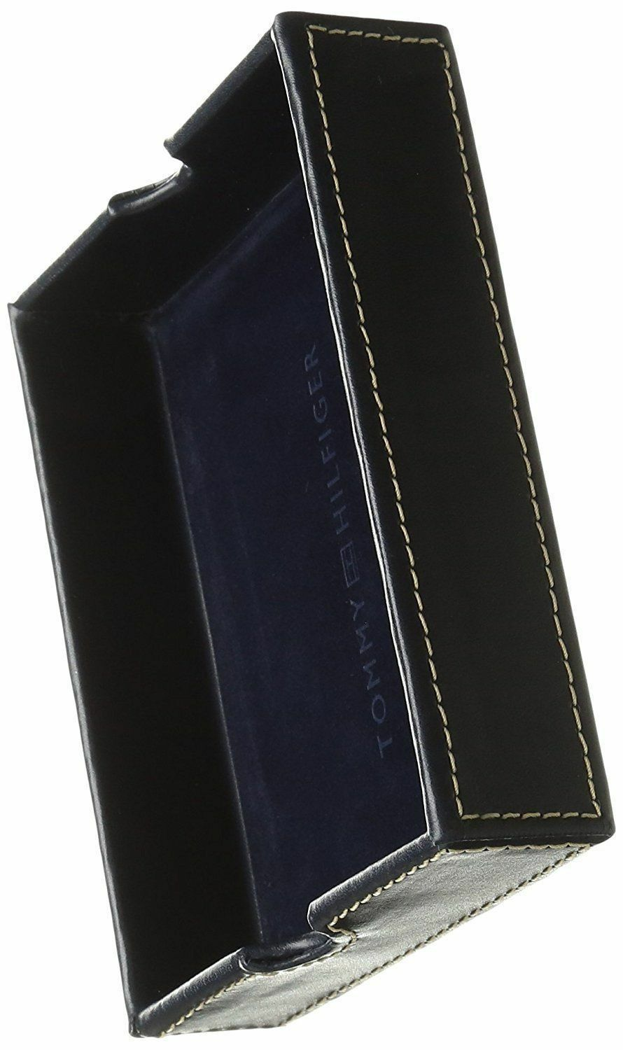 New Tommy Hilfiger Men's Leather Credit Card ID Passcase Wallet Black 31TL22X060 image 10