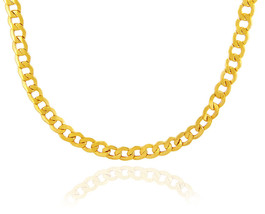 10k Cuban Link Gold Chain Springring Clasp 2.68 mm Made in USA - £99.85 GBP+