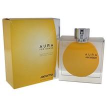 Jacomo Aura Women Eau De Toilette Spray, 1.4 Ounce