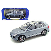 2008 Porsche Cayenne Turbo Silver 1/18 Diecast Model Car by Motormax 73179s - $61.11