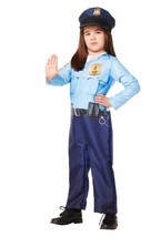 POLICE OFFICER Costume -  Boys Girl - Size 2T-3T   - $10.89