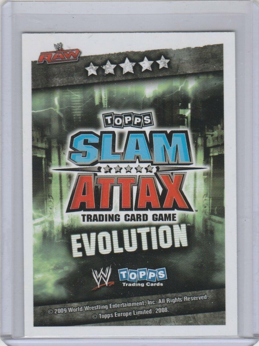 2009 Topps WWE Slam Attax Evolution Champion Batista