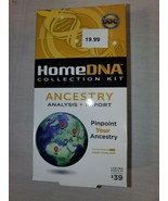 NEW HOME DNA COLLECTION KIT ANCESTRY ANALYSIS REPORT PINPOINT YOUR ANCESTRY - $12.00