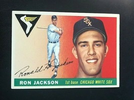 1955 Topps Baseball Card #66 RON JACKSON - Chicago White Sox (B) - $3.91