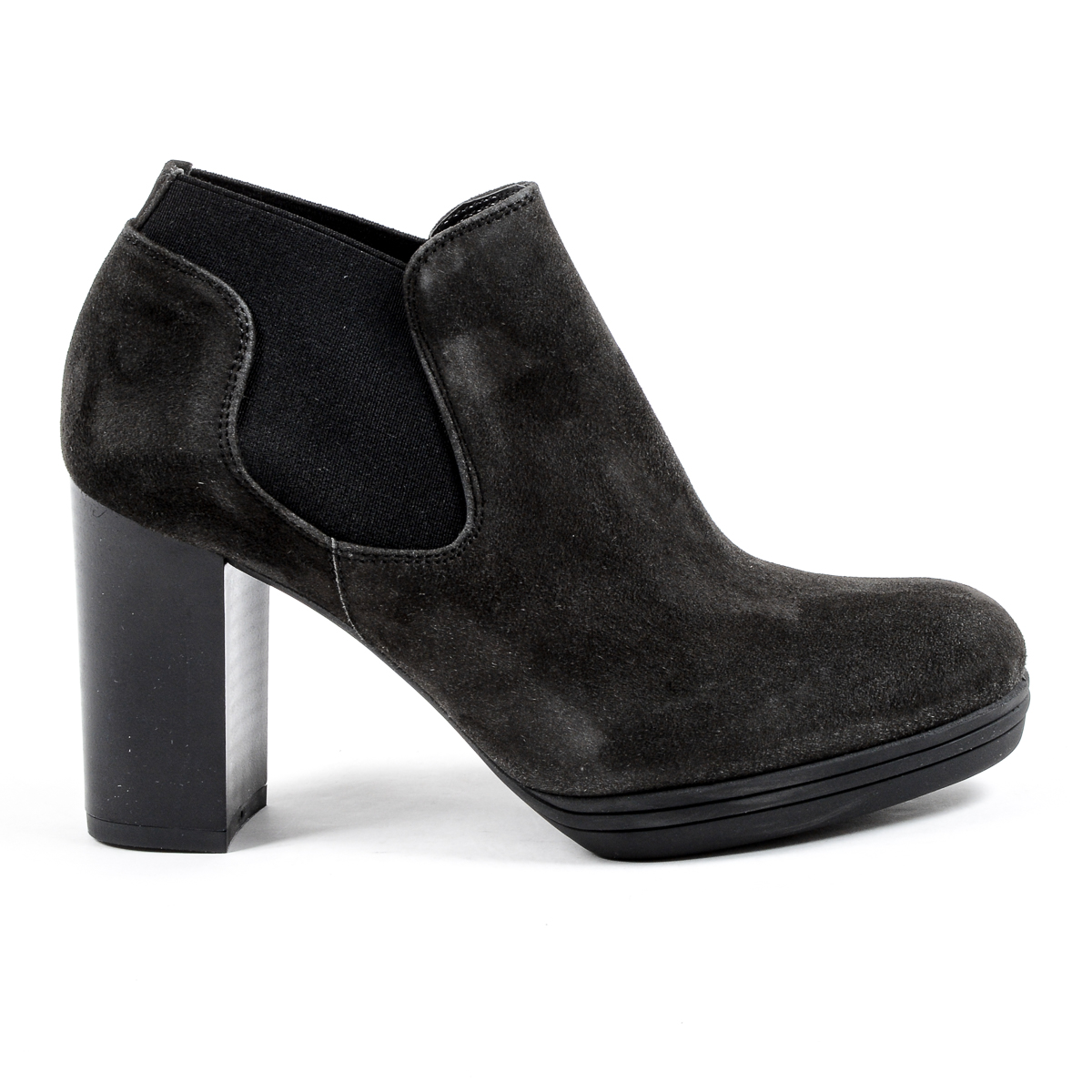 Primary image for V 1969 Italia Womens Heeled Ankle Boot Dark Grey GRACY