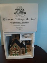 Dept 56 Knottinghill Church 5582-4 Dickens Village Series Heritage Colle... - $29.65