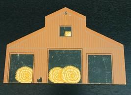 Southern Crib Barn American Barn Series 1992 Cats Meow Painted Wood Bloc... - $11.64
