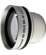 3.5x HD Telephoto Lens for Panasonic VDR-D230 VDR-D250 VDR-D300 VDR-D310... - $24.17