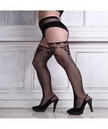 Womail Womens Lingerie Net Lace Top Garter Belt Thigh Stocking Pantyhose... - $6.58