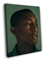 Pharrell Williams Portrait Hip Hop R&B Music Decor Framed Canvas Print - $14.96+