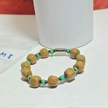"Magnetic Hematite Bracelet 7 1/2"" Single Strand  (MAG-008) image 6"