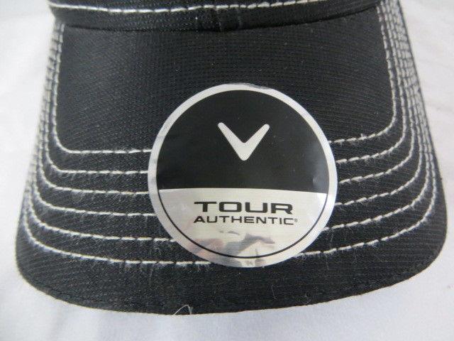 ab83f48bb22 Callaway Tour Golf Hat Black Mesh Odyssey Big Bertha Speed Regime Strap Back