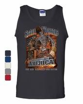 Steel Workers Backbone of America Tank Top Welding Iron Metal Sleeveless - $9.49+