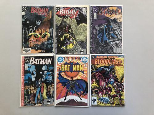 Lot of 12 Batman (1940) from #380-441 Annuals 8 17 VF-NM Near Mint