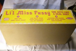Vintage Lil Miss Fussy Doll Box by Topper image 2
