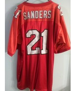 Mitchell Ness Atlanta Falcons Deion Sanders Authentic NFL Throwback Jers... - $222.75