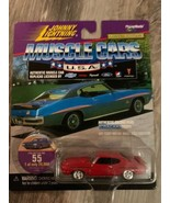 "JOHNNY LIGHTNING -  ""MUSCLE CARS U.S.A.""  - 1971 PONTIAG GTO JUDGE - DIE... - $6.88"