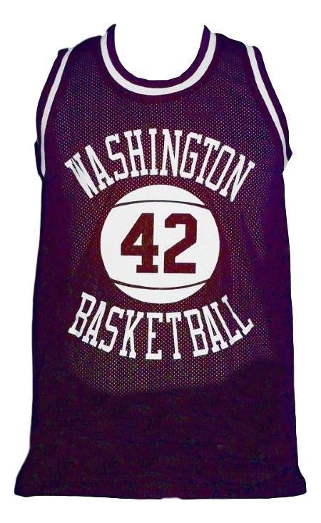 Latrell sprewell  42 washington puregolders basketball jersey purple   1