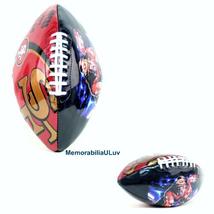San Francisco 49ERS NFL Team Logo Football Junior - £19.63 GBP