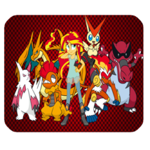 Mouse Pad Pokemon Cute Animation Movie With Red Design Animation Video Game - €8,00 EUR
