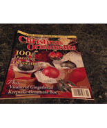 Crafting Christmas Ornament Magazine Winter 2000 Going to the Chapel - $2.99