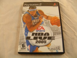 NBA Live 2005 - Playstation 2 Game - Good Condition! - $1.00