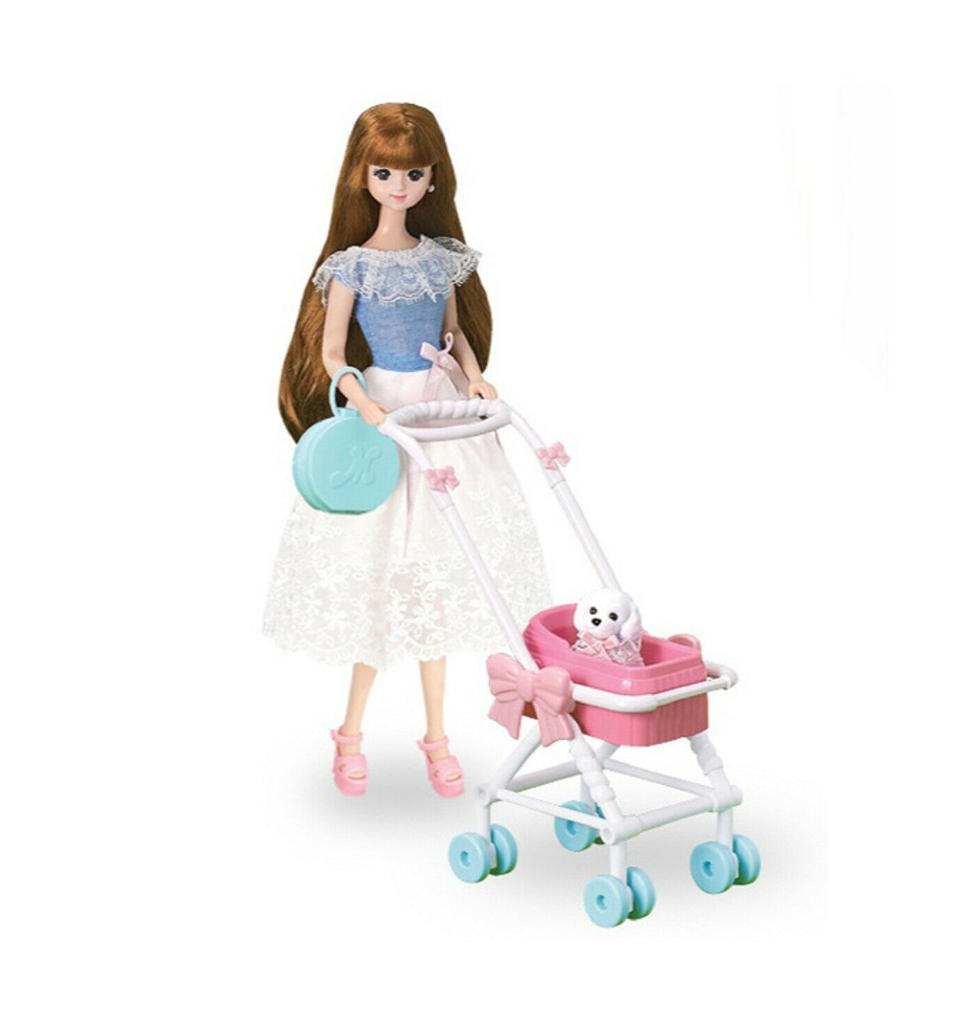 Mimi World Mimi and Shushu Let's go to The Park Figure Toy Doll Rollplay Playset