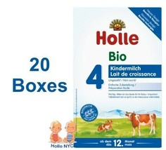 Holle stage 4 Organic Formula 20 Boxes 600g Free Shipping - $472.95