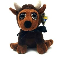 "The Petting Zoo Plush Sitting Bison Stuffed Animal 8"" Colorado Ribbon  - $19.30"
