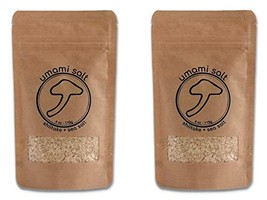 Umami Salt, Shiitake Mushroom Kosher Flake Sea Salt, Perfect for Seasoning or Fi