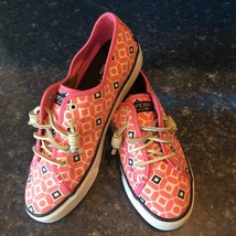 Sperry Top-Sider Pink SEACOAST Geo Print Slip-on Sneaker, STS94760, Size 7.5 - $49.00
